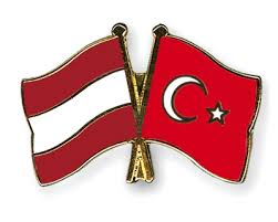 images Austria Turkey Flags  αρχείο λήψης