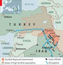 images Irak Turkey Oil Map    αρχείο λήψης