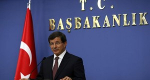 Turkish Prime Minister Ahmet Davutoglu announces his new cabinet in Ankara