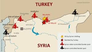 images Borders Turkey Syria Map    images