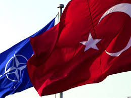 images Nato Turkey flags     αρχείο λήψης