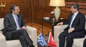 images Samaras Davuto Two shot   αρχείο λήψης