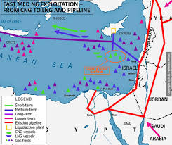 images Egypt Israel Gas map N  images