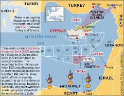 images Cyprus Gas Exploration MAP Israel Egyp  αρχείο λήψης