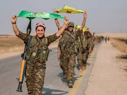 images Syria Kurds Parade Weapons   images