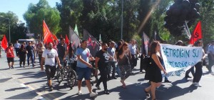 images Water Demostration Occu Nicosia    eylemic