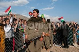 images Kurds PKK Woman Weapon    images