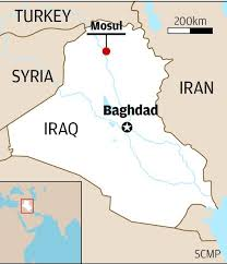 images Iraq MAP Mosul Bagda  images