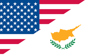 images Cyprus -Usa Flags   αρχείο λήψης