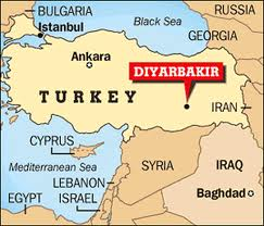 images Diyarbakir Map Turkey      αρχείο λήψης