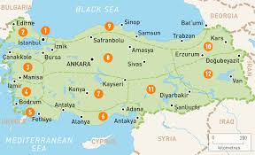 images Turkey Map Towns  images