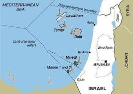 images Leviathan Israel Gas Tamar map      images