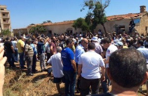 images occupied Famagu Demo Barrica   North-Cyprus-News-Demo-at-Derynia