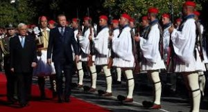 images Erdogan Athens Reception with Pavlop images