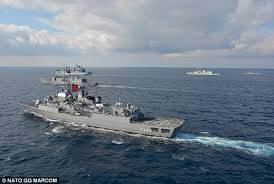 images Turkish Warships East Mediterranean αρχείο λήψης